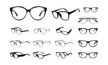 Set Of Various Eye Glasses Fra...
