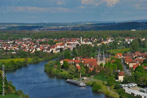 Fototapeta Landschaft Städte Burgen Deutschland obraz na płótnie