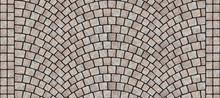 Road Curved Cobblestone Texture 092