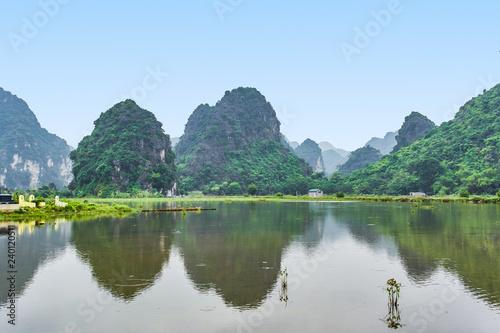 Poster Guilin Mountains view in Ninh Binh, Vietnam