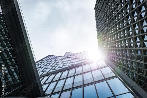 Immeuble building bureau banque affaire business vitre verrière