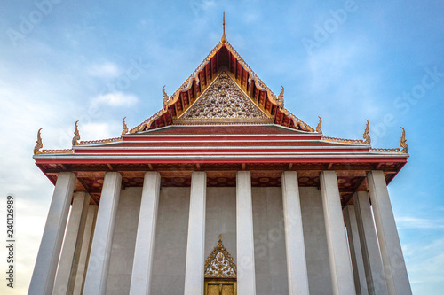 Fotografie, Obraz  Thailand temple environment, Golden Mount, Bangkok.