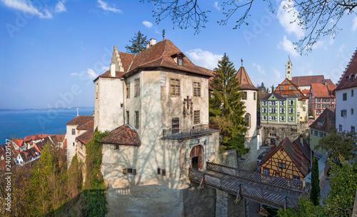Meersburg Bodensee Altstadt Burg