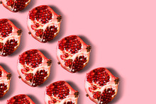 Pomegranate Colorful Pattern O...
