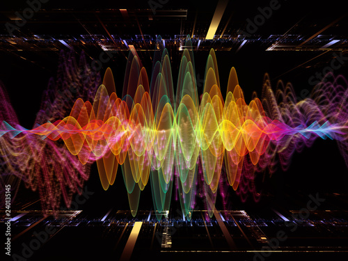 Fotografie, Obraz  Virtual Oscillation