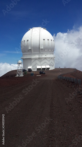 Sternenwarte auf dem Mauna Kea in Hawaii