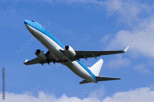 Foto  Airplane in flight