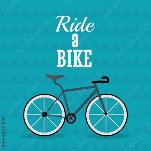 Fototapety, obrazy: bike and cycling related icons image
