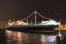 Hikawa Maru, Japanese Ocean Liner Launched On 30 September 1929, Now Permanently Berthed As A Museum Ship.