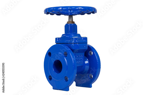 Photo  gate valve for waterworks