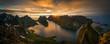 Leinwanddruck Bild - Helvete Midnight Panorama