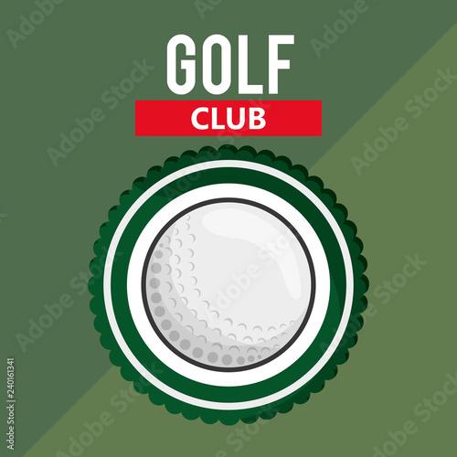 Valokuva  golf club golfing related icons image