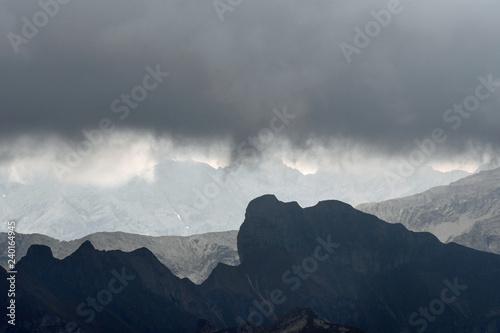 Fototapety, obrazy: regenhimmel über dem allgäu