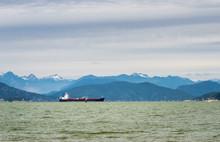 Tanker Ship Anchored At Entran...