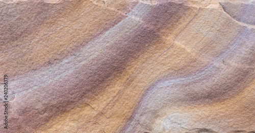 Fotografiet Detail of sandstone background or Patterns Texture of beautiful sandstone  Abstr