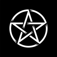 Pentagram Isolated Vector Occu...