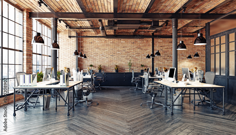 Fototapeta modern office interior