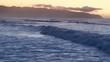 Cinematic Aerial of Pacific Ocean / Massive waves in Hawaii, Oahu Island