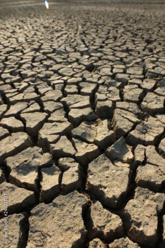 Zdjęcie XXL sucha, popękana ziemia