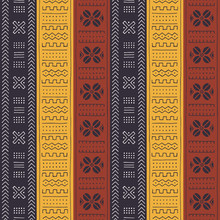 African Seamless Pattern With ...