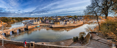 Fototapeta Port De St Goustan obraz