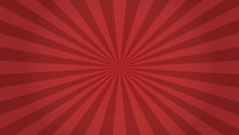 Red Rays Background. Sunburst ...