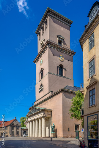 The Copenhagen Cathedral (Church of Our Lady, Danish: Vor Frue Kirke), Denmark Wallpaper Mural