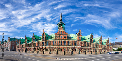 Fotografie, Obraz  The Old Stock Exchange (Danish: Boersen) in Copenhagen, Denmark