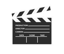 Realistic Film Clapper Sign. S...