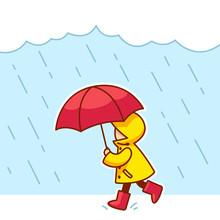 Little Child In The Rain