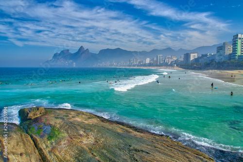 Fotografie, Tablou  Ipanema in Rio de Janeiro