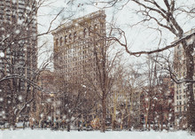 View Of Historic Flatiron Buil...