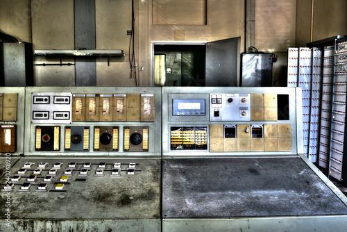 Fotografía  Schaltpult Elektro