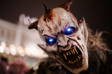 Krampus Masks To Trieste By Ni...