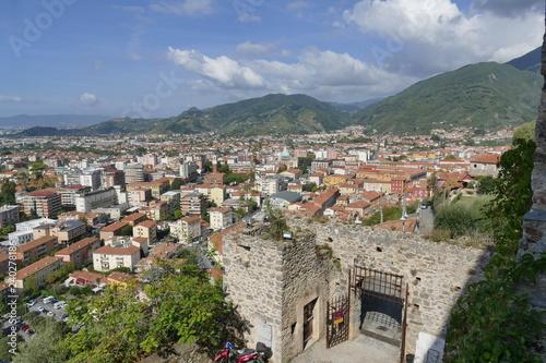Fotografie, Obraz  Massa - Malaspina Cybo Castle panorama