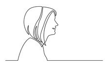 Continuous Line Drawing Of Iso...