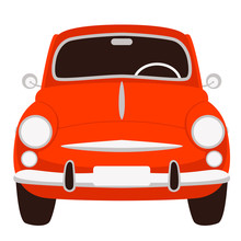 Old Vintage Car ,vector Illust...