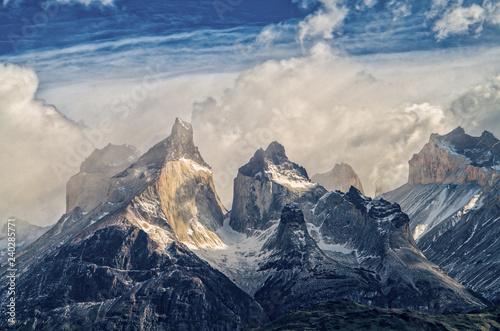 Fotografie, Obraz  Torres del Paine Scenery