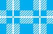 light blue and white tartan plaid pattern.Vector illustration