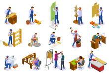 Craftsman Work Isometric Set