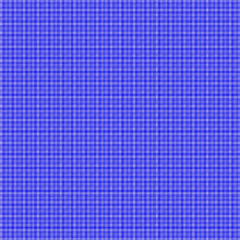 Blue Purple Periwinkle Woven Basketweave Background. Repeated Braiding Of Horizontal And Vertical Stripes Creates A Basket Weave Pattern With Double And Triple Strands In Two Shades Of Blue Purple.