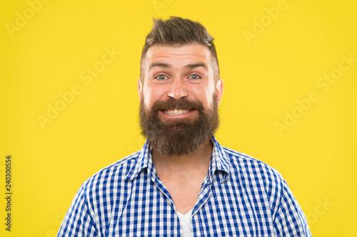 Fényképezés  Bearded and happy