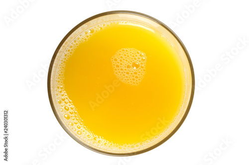 Fotoposter Sap a glass of orange juice
