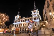 Night Scene Of Toledo Town Hal...