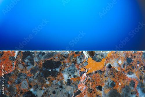Fotografie, Obraz  texture de faux marbre gris orangé