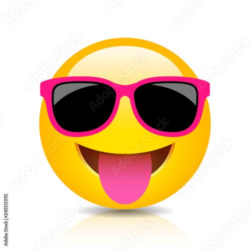 Photo Happy foolish emoji icon