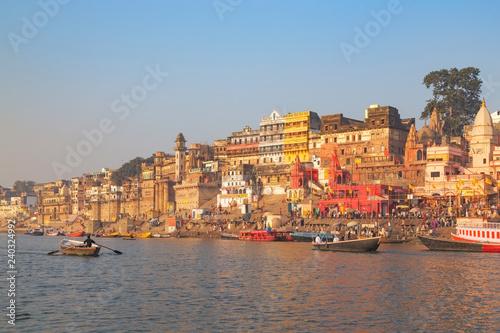 Foto op Canvas India Varanasi city, India