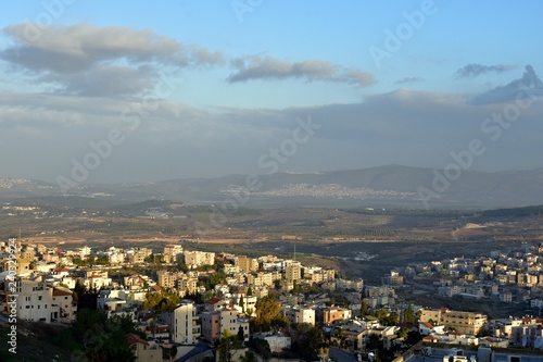 Canvas Prints Historical buildings Panorama of Nazareth;city - Nazareth, country - Israel, date - 12/11/2018