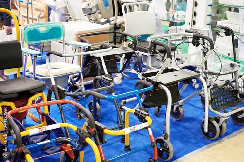 Fototapeta Walker for disabled or elderly people obraz