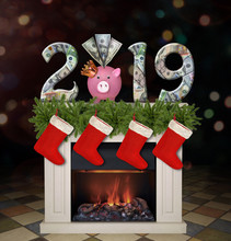 New Year 2019. The Piggy Bank ...